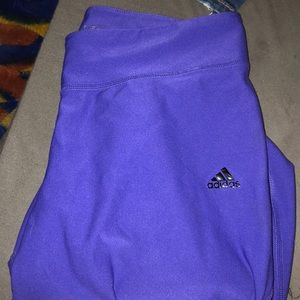 adidas purple leggings